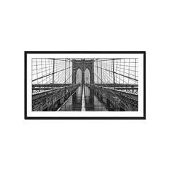 Brooklyn Bridge (Blanco y Negro) - Sur Arte Shop - Láminas y Cuadros