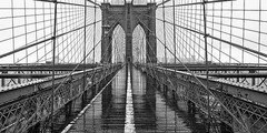 Brooklyn Bridge (Blanco y Negro) en internet
