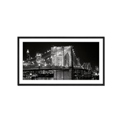 Brooklyn Bridge at Night - Sur Arte Shop - Láminas y Cuadros