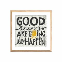 Good Things Are Going to Happen - comprar online