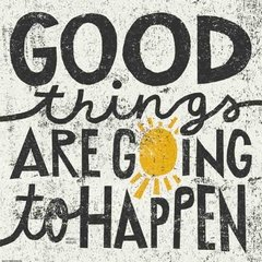 Good Things Are Going to Happen en internet