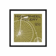 High Wheel Cyclery - Sur Arte Shop - Láminas y Cuadros