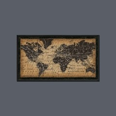 Old World Map en internet