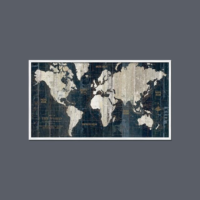 Old world map blue mapa antigua azul 13558 mapa azul moldura blanca mapas gumiabroncs Choice Image
