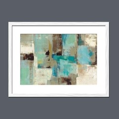 Teal and Aqua Reflections - tienda online