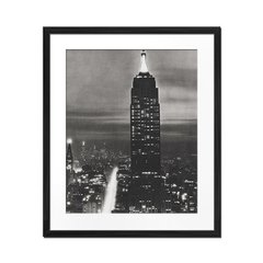 Empire State Building in Black and White - Sur Arte Shop - Láminas y Cuadros