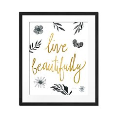 Live Beautifully - Sur Arte Shop - Láminas y Cuadros