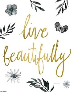 Live Beautifully en internet