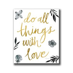 Do All Things With Love - comprar online