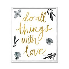 Do All Things With Love - tienda online