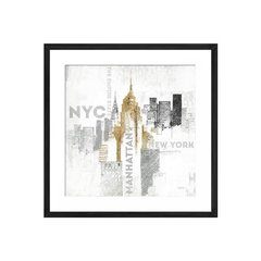 Empire State Building on White - Sur Arte Shop - Láminas y Cuadros