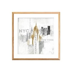 Empire State Building on White - comprar online