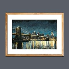 Bright City Lights Blue I - comprar online