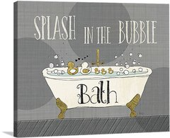 Splash in the Bubble
