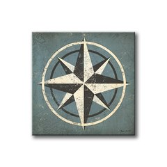 Nautical Compass Blue - comprar online