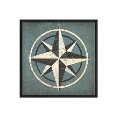 Nautical Compass Blue en internet