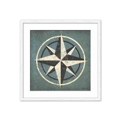 Imagen de Nautical Compass Blue