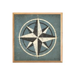 Nautical Compass Blue