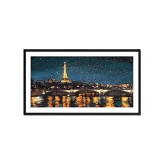 Paris Lights Blue - Sur Arte Shop - Láminas y Cuadros