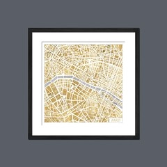 Gilded Paris Map en internet