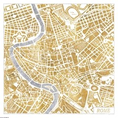 Gilded Rome Map en internet