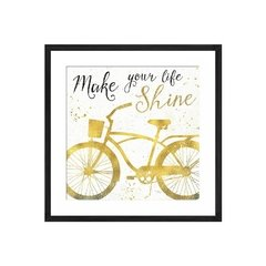 Golden Ride II on White - Sur Arte Shop - Cuadros