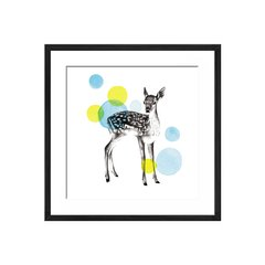 Sketchbook Lodge Deer - Sur Arte Shop - Láminas y Cuadros