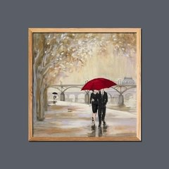 Imagen de Romantic Paris III Red Umbrella