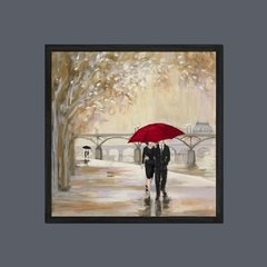 Romantic Paris III Red Umbrella - comprar online