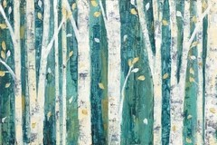 Birches in Spring - Sur Arte Shop - Láminas y Cuadros