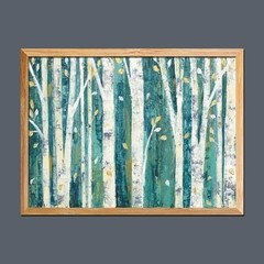 Birches in Spring en internet