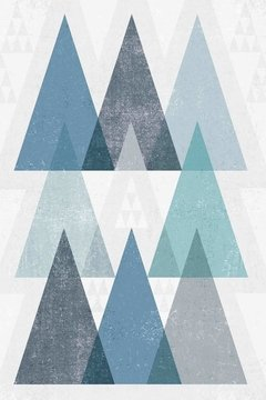 Mod Triangles IV Blue en internet
