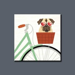 Beach Bums Pug Bicycle I - comprar online