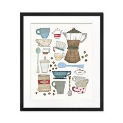 Coffee Chart I - Sur Arte Shop - Cuadros