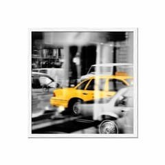 Yellow Taxi Reflection - tienda online