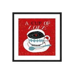 A Cup of Love - Sur Arte Shop - Láminas y Cuadros