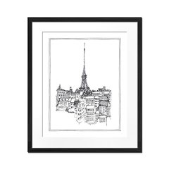 Paris Sketch - Sur Arte Shop - Cuadros