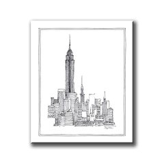 New York Sketch - comprar online