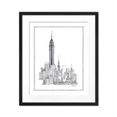 New York Sketch - Sur Arte Shop - Láminas y Cuadros