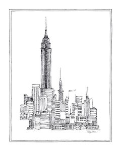 New York Sketch en internet