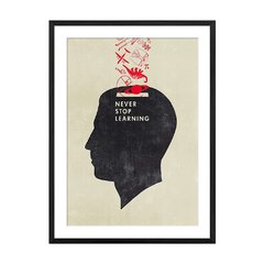 Never Stop Learning - Sur Arte Shop - Cuadros
