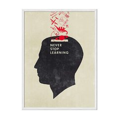 Never Stop Learning - tienda online