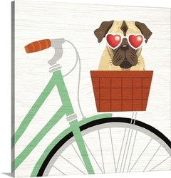 Beach Bums Pug Bicycle I