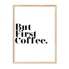 Imagen de But First Coffee