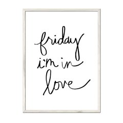 Friday I'm in Love - Sur Arte Shop - Cuadros