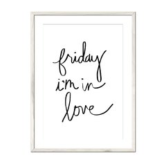Friday I'm in Love - tienda online