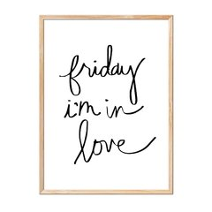Imagen de Friday I'm in Love