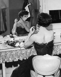 Elizabeth Taylor 1951 behind the Scenes 'A Place in the Sun' en internet