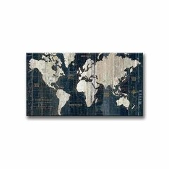 Antique Map in Blue - comprar online