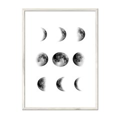 Moon Cycle - Sur Arte Shop - Cuadros